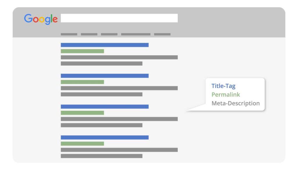 Onpage-Optimierung Google SERP